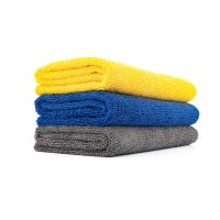 The Rag Company Edgeless 365 Detailing Towel (Blau, Gelb, Grau)