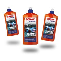 Sonax XTREME Ceramic Active Shampoo 500ml x3